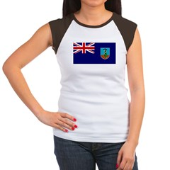 Montserrat Women's Cap Sleeve T-Shirt