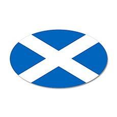 Scotland 22x14 Oval Wall Peel