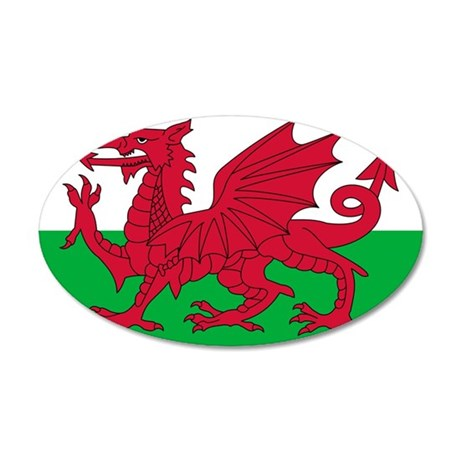 Wales 22x14 Oval Wall Peel