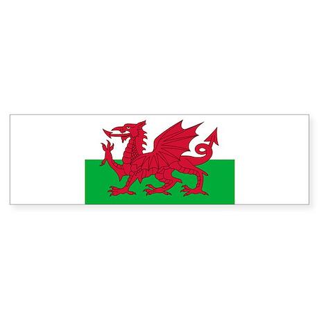Wales Sticker (Bumper)