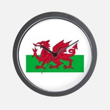 Wales Wall Clock