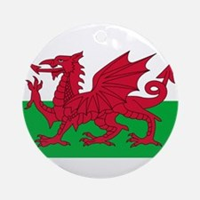 Wales Ornament (Round)