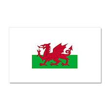 Wales Car Magnet 20 x 12
