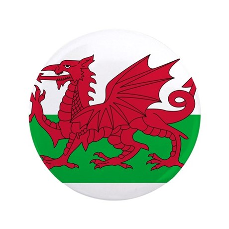 "Wales 3.5"" Button (100 pack)"