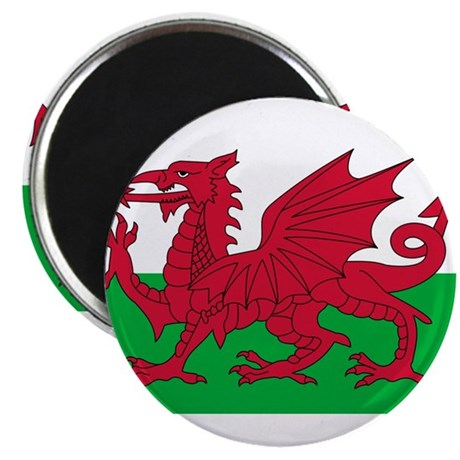 """Wales 2.25"""" Magnet (10 pack)"""
