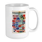 United Nations Fight For Free Large Mug