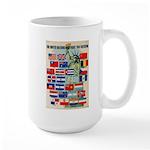 United Nations Fight For Free Large Mug