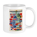 United Nations Fight For Free Mug