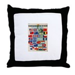 United Nations Fight For Free Throw Pillow