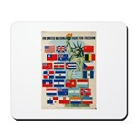 United Nations Fight For Free Mousepad