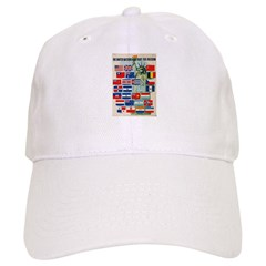 United Nations Fight For Free Baseball Cap