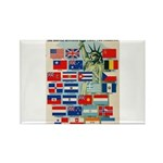 United Nations Fight For Free Rectangle Magnet (10