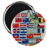 United Nations Fight For Free Magnet