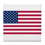 United States of America Tile Coaster