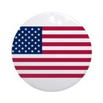 United States of America Ornament (Round)