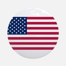 United States of America Ornament (Round)