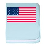 United States of America baby blanket