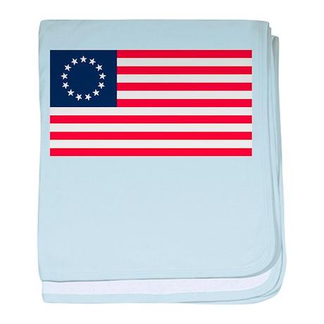 Betsy Ross baby blanket