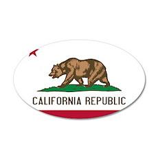 California 22x14 Oval Wall Peel