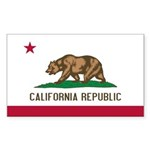 California Sticker (Rectangle 50 pk)
