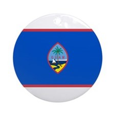 Guam Ornament (Round)