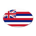 Hawaii 38.5 x 24.5 Oval Wall Peel