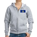 New York Women's Zip Hoodie