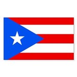Puerto Rico Sticker (Rectangle 50 pk)