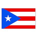 Puerto Rico Sticker (Rectangle 10 pk)