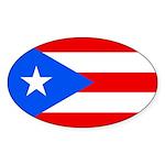 Puerto Rico Sticker (Oval 10 pk)