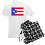 Puerto Rico Men's Light Pajamas