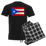 Puerto Rico Men's Dark Pajamas