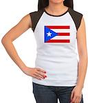 Puerto Rico Women's Cap Sleeve T-Shirt