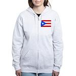 Puerto Rico Women's Zip Hoodie