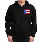Puerto Rico Zip Hoodie (dark)