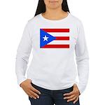 Puerto Rico Women's Long Sleeve T-Shirt