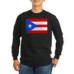 Puerto Rico Long Sleeve Dark T-Shirt