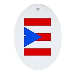 Puerto Rico Ornament (Oval)