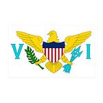 U.S. Virgin Islands 38.5 x 24.5 Wall Peel