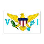 U.S. Virgin Islands 22x14 Wall Peel