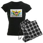 U.S. Virgin Islands Women's Dark Pajamas