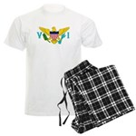 U.S. Virgin Islands Men's Light Pajamas