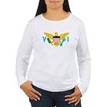 U.S. Virgin Islands Women's Long Sleeve T-Shirt