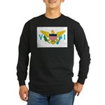 U.S. Virgin Islands Long Sleeve Dark T-Shirt