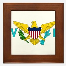 U.S. Virgin Islands Framed Tile