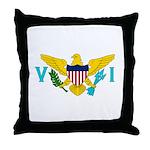U.S. Virgin Islands Throw Pillow
