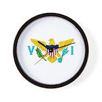 U.S. Virgin Islands Wall Clock