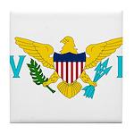 U.S. Virgin Islands Tile Coaster