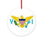 U.S. Virgin Islands Ornament (Round)