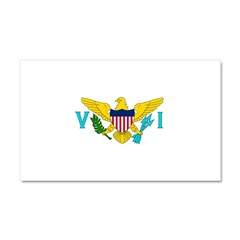 U.S. Virgin Islands Car Magnet 20 x 12